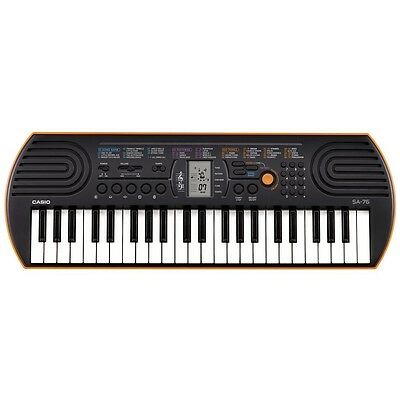 NEW Casio SA-76 Mini 44-Key Portable mini Keyboard on Rummage