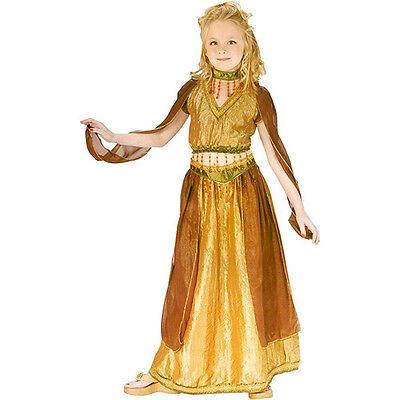 Fun World Girl's Arabian Princess Belly Dancer Child Costume Medium 8-10