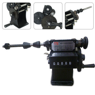 Manual Hand Coil Counting Winding Machine Coil Winder 28cm Width Dual Purpose