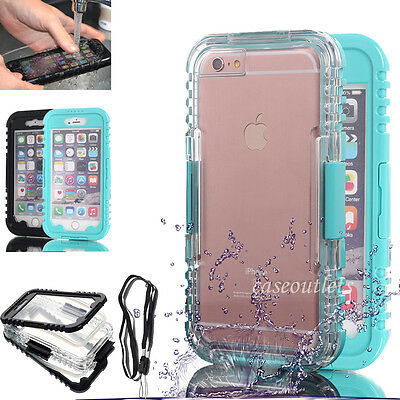 IPHONE 6 6S PLUS WATERPROOF SHOCKPROOF DIRT PROOF HARD BEST CASE COVER FOR