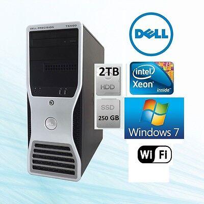 Dell Precision T5500 Workstation Xeon 8 Core 3.06Ghz 24GB 2TB+250G SSD Win 7 Pro