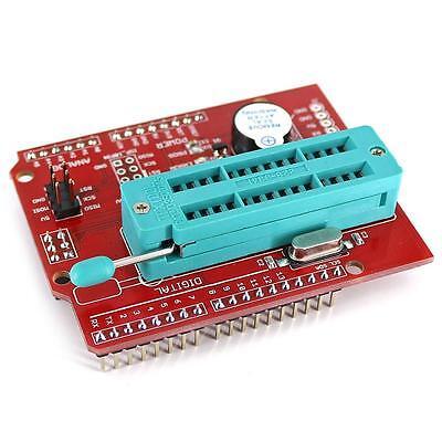 Avr Isp Shield Burning Burn Bootloader Programmer For Arduino Uno R3 M