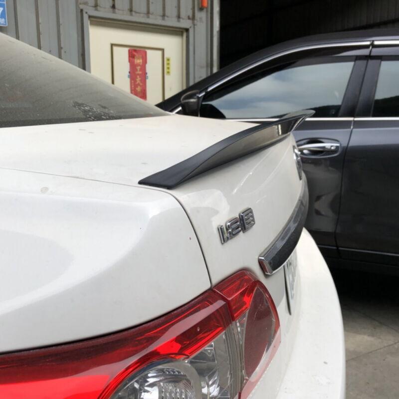 Flat Black 522ET PUF Rear Trunk Spoiler Wing For 05~06 Infiniti G35 V35 Sedan