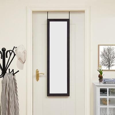 "Naomi Home Over The Door Mirror Espresso 48"" x 14"""