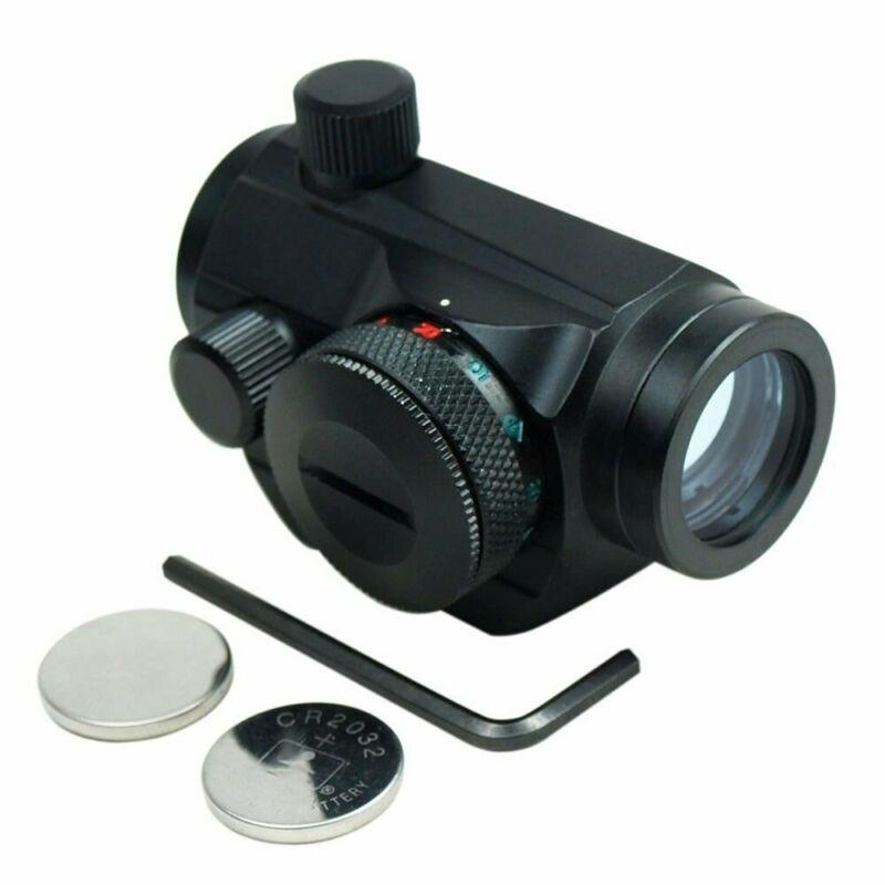 Passive Red/Green Micro Dot Collimator Reflex Sight Picatinny Rail Mnt HD22M1-RG
