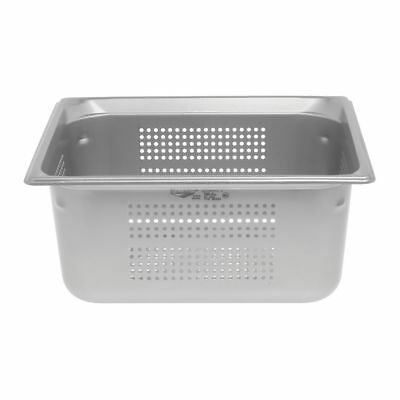 Vollrath Super Pan 3 Steam Table Pan 12 Size Stainless Steel Perforated - 6d