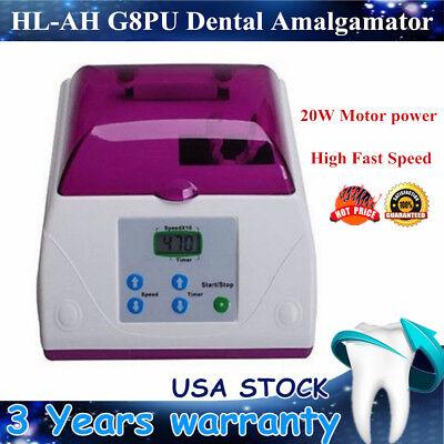 Electric Hl-ah High Fast Speed Amalgamator Dental Lab Amalgam Capsule Mixer G8pu