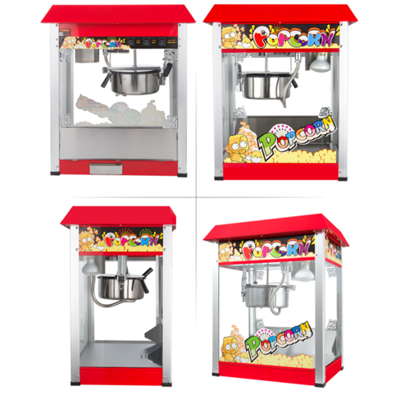 Commercial Popcorn Maker Machine Fully Auto Large Capacity w