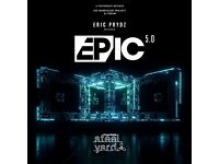 Eric Prydz Epic 5.0 Tickets - London Victoria Park 27th May - Sold Out