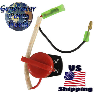 2 Wire On Off Switch For Gas Generator Pressure Washer Water Pump Kill Stop 168