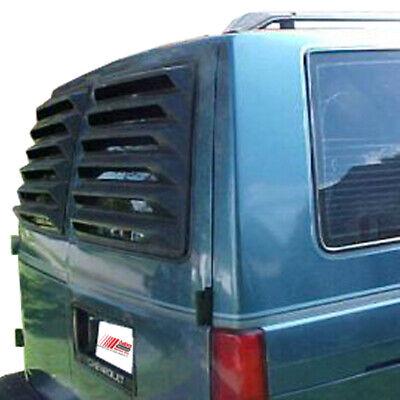 85-06 Chevrolet Astro Van WILLPAK ASTRA HAMMOND Textured ABS Rear Window Louver