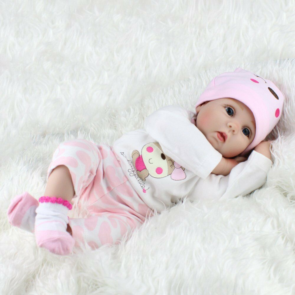 Lifelike Newborn Dolls Realistic Silicone Vinyl Reborn
