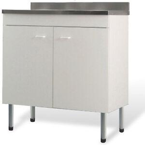 Mobile lavello bianco x cucina componibile facile da - Mobile lavello cucina ikea ...