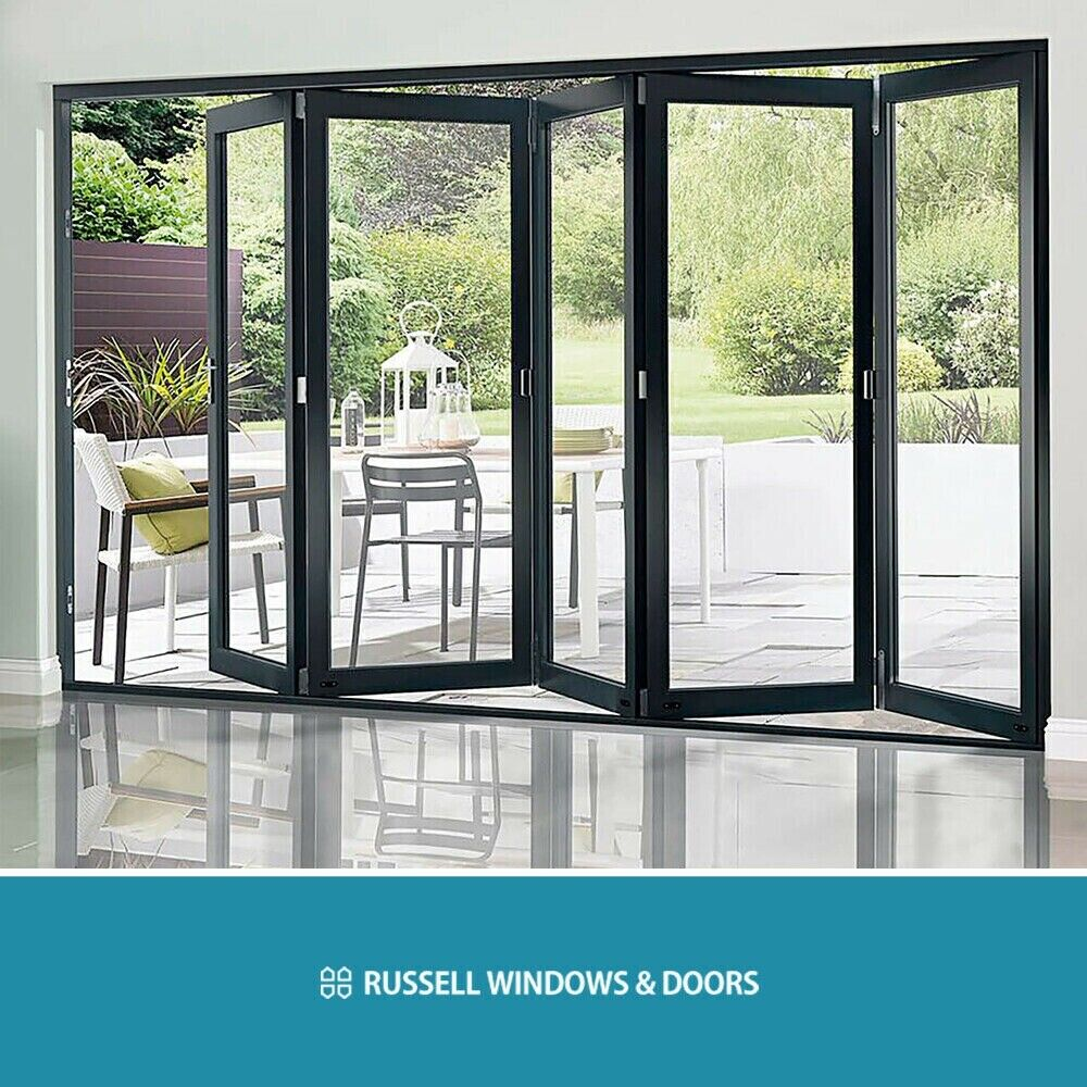 best cheap dc5f0 d51f5 Openview Bi Fold Doors Aluminium folding Doors Patio Black Anthracite Grey  White FREE DELIVERY | in Derby, Derbyshire | Gumtree