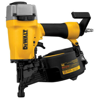 Dewalt 15 Degree 2-12 In. Coil Siding Nailer Dw66c-1r Reconditioned