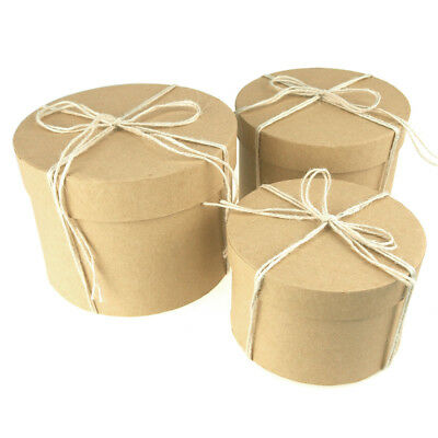 Holiday Round Nested Gift Boxes, 5, 6 and 7-Inch, 3-Piece](Round Gift Boxes)