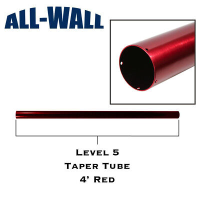 Level5 Taper Tube - Replacement 4 Aluminum Barrel For Drywall Taping Toolgun