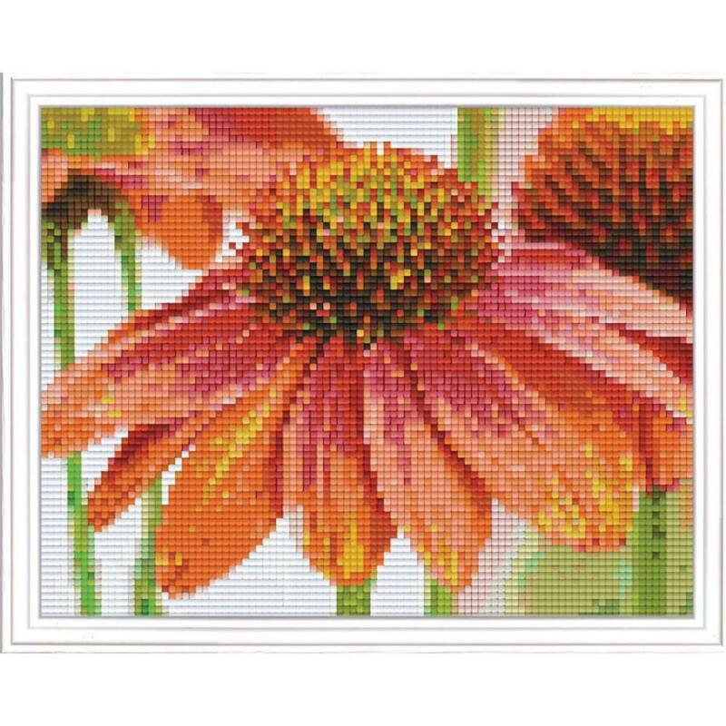 PixelHobby Flowers Mosaic Art Kit