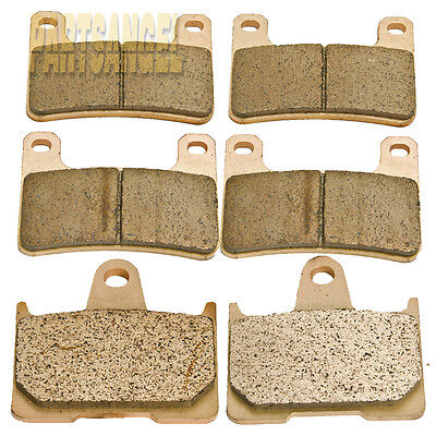 Front Rear Sintered Brake Pads For 2004 2005 2006 Suzuki GSXR 600 750 1000