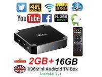 X96 Mini 4K S905W 2GB 16GB TV BOX Android 7.1 Quad Core Smart Media Player WIFI