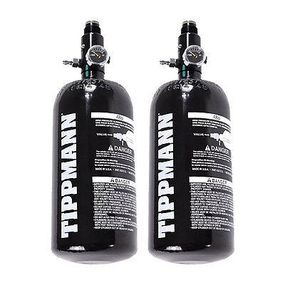 - 2 - Pack Tippmann Basics 47 / 48ci 3k Aluminum HPA / Nitro / Compressed Air Tank