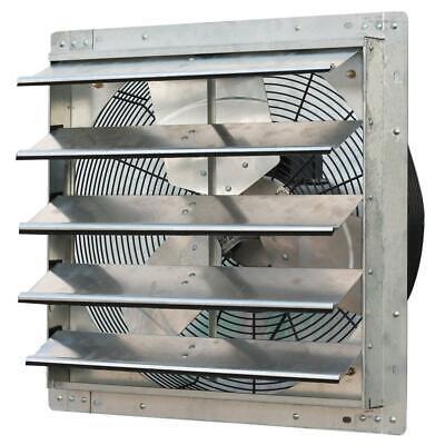 3300 Cfm Power 20 In. Variable Speed Shutter Exhaust Fan Iliving Garage Inch