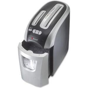 Rexel Prostyle+ Shredder - 4mm x 23mm Confetti Cut - Black+Silver