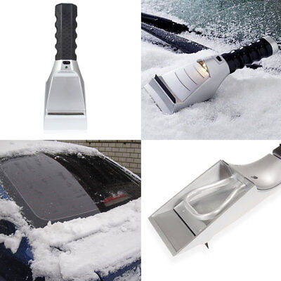 12V Heated Auto Electric Windshield Ice Scraper Snow Melter Removal Car