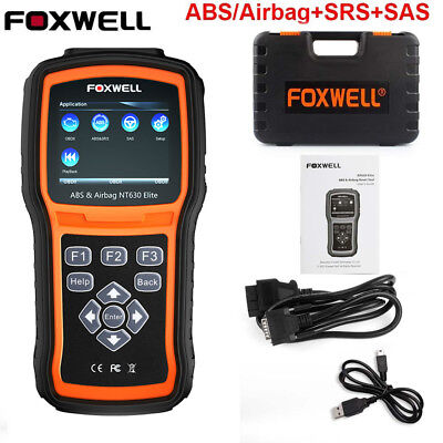 Foxwell Abs Airbag Srs Sas Reset Obd2 Code Reader Diagnostic Tool Engine Check