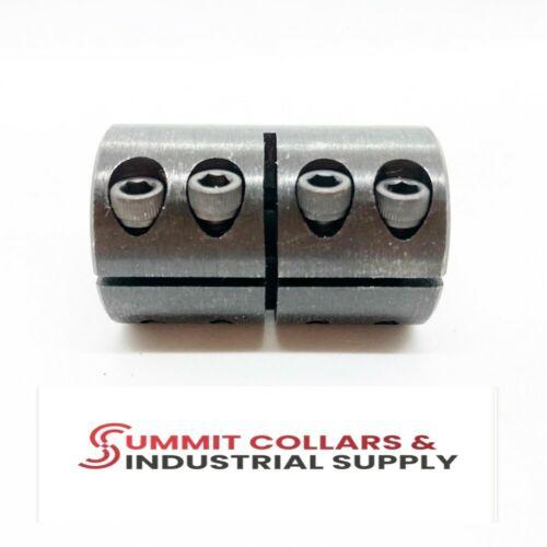 "1/2"" Single Split Rigid Shaft Clamp Coupling Black Oxide 1SSC-050-050"