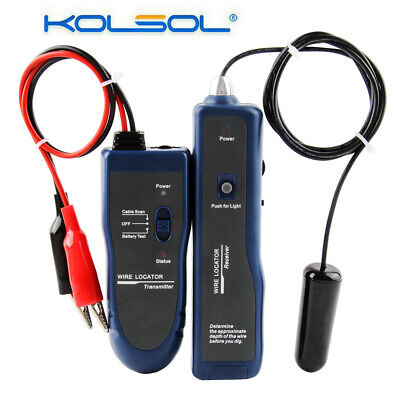 Underground Cable Wire Locator Fence Electrical Wire Finder Tracer Cable Tracker