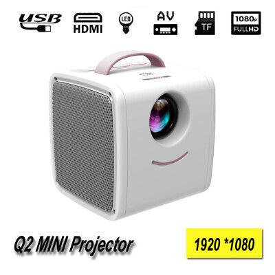 1920 x 1080P 10 - 24W Portable LED TV Pocket Beamer 2 Built-In 2W 4 OHM Speaker