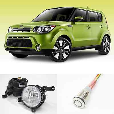 kia soul 2014 2015 2016 2017 fog lamps led switch complete kit you re almost done kia soul