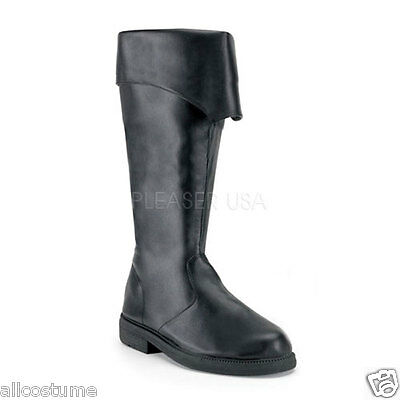 Pirate Boots Tall Renaissance Boots Buccaneer Captain 105