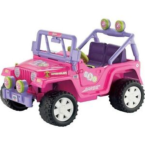 Power wheels jeep for parts or running wanted