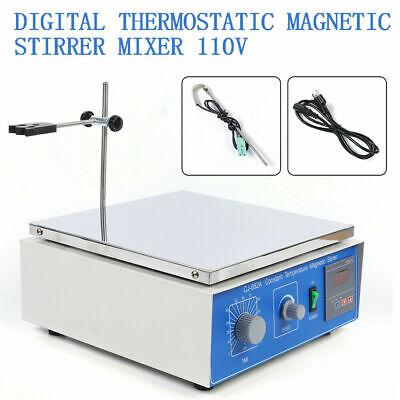 1  Magnetic Stirrer Lab Mixer Magnetic Stirrer Hot Plate Heating Power 10l New