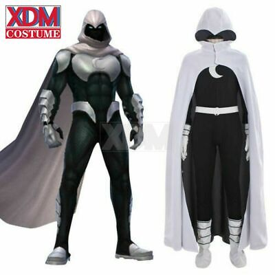 Moon Knight Halloween Costume (Moon Knight Cosplay Costume Men's Custom Made Outfit Costumes Halloween)