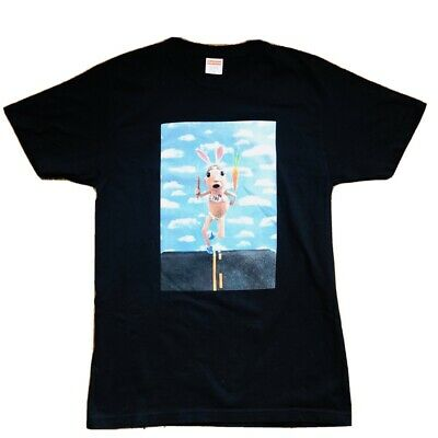 Supreme Mike Hill Runner Tee T-Shirt BLACK MEDIUM SS17