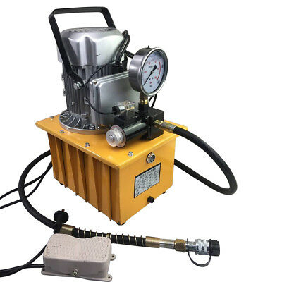 Electric Driven Hydraulic Pump Single Acting 110v Remote Controlled 10000 Psi