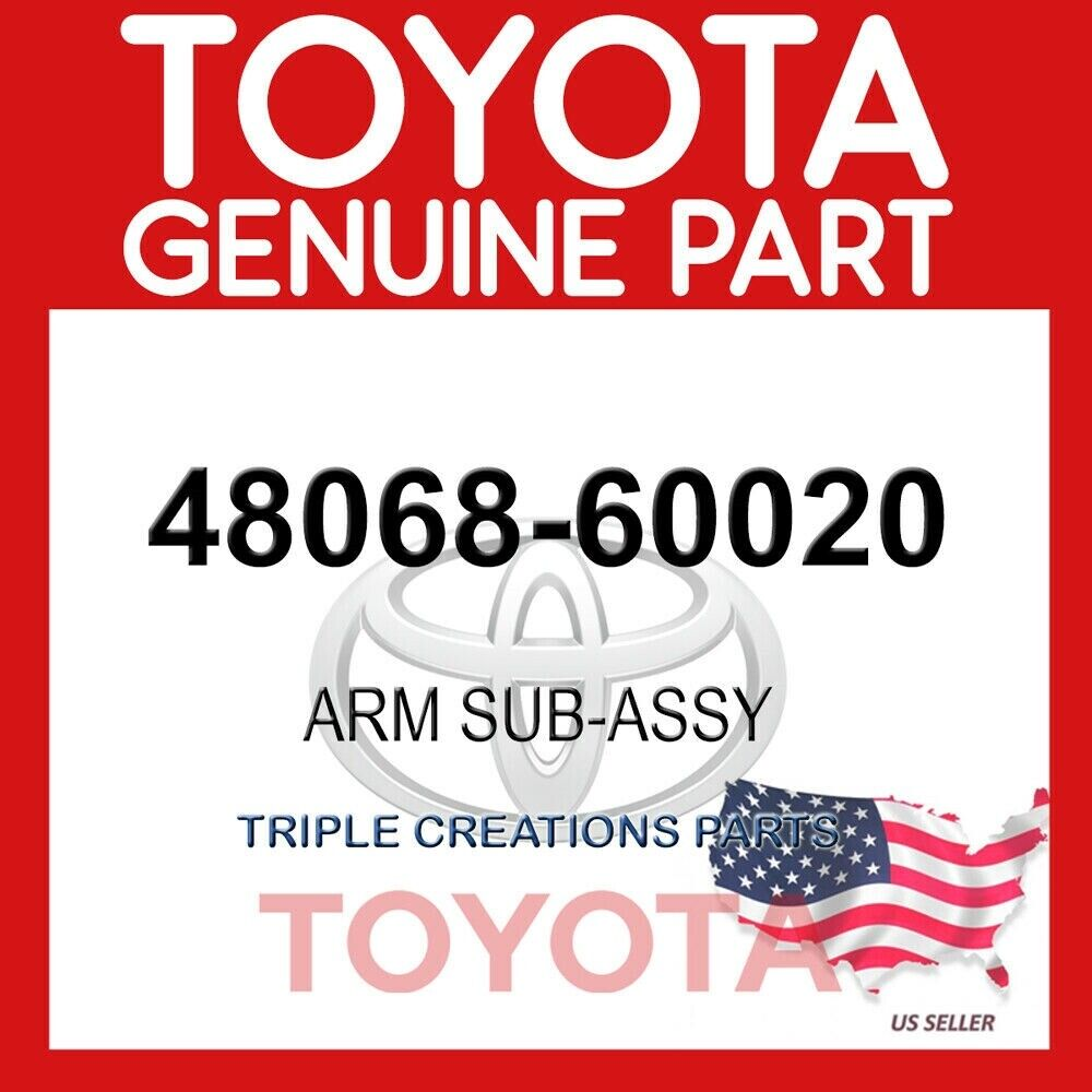 front suspension lower no.1 rh 4806812240 48068-12240 Toyota Arm sub-assy New