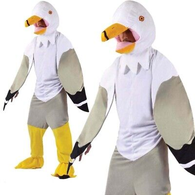Adults Seagull Bird Big Head Fancy Dress Costume - Seagull Kostüm