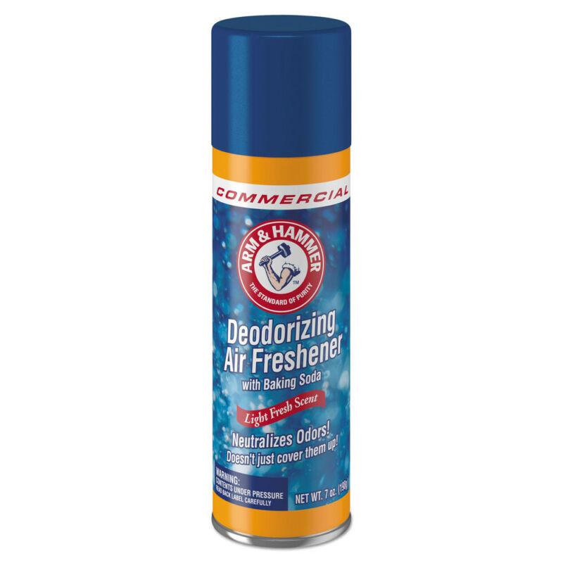 Arm & Hammer Baking Soda Air Freshener,Aerosol,Light Fresh,7 Oz 3320094170CT NEW