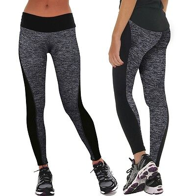 Ladies Yoga Sports Pants Active Apparel Leggings Running Gym Fitness Trousers 14