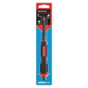 sutton tools PIN PUNCH or NAIL PUNCH - ON CLEARANCE MITRE 10 BUNDALL