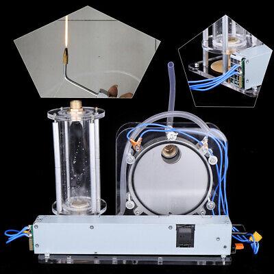200w Hydrogen Oxygen Generator Kit W Spray Gun Teaching Device Stainless Steel
