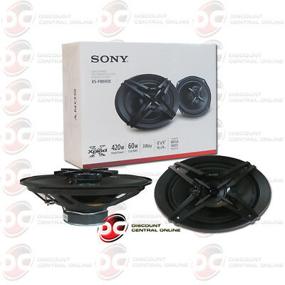 Sony XSGT6937A 6 x 9-Inch 3-Way Car Speakers