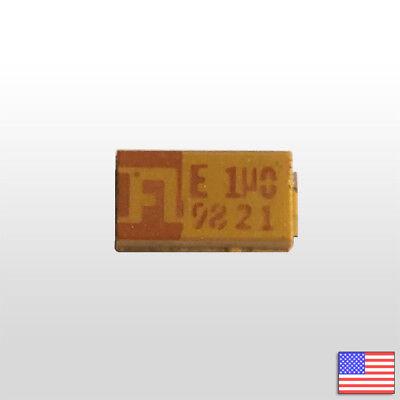 10x 1uf 25v 10 1206 Tantalum Capacitor - 10pcs - Fast Free Shipping