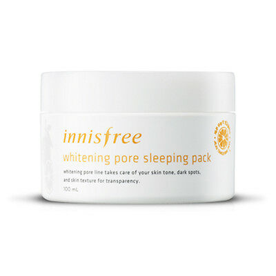 Innisfree Whitening Pore Sleeping Pack 100ml Free gifts