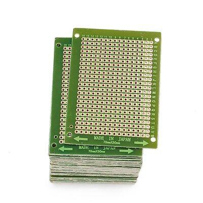 30pcs 50mm X 70mm Copper Strip Printed Circuit Board Perfboard Pcb Diy Soldering