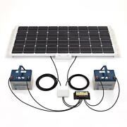 100W Solar Panel Kit